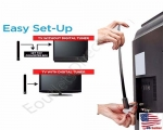 NEW Portable Indoor Digital TV HDTV Antenna 35 Miles 1080P 4K UHF/VHF